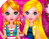 Play Adeline and Juliana Dress Up