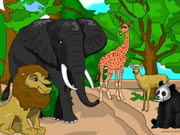 Play Animal Park Coloring