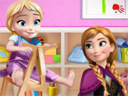 Play Anna and Baby Elsa