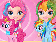 Play Baby Barbie Little Pony