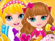 Play Baby Barbie Sisters Matching
