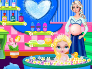 Play Baby Elsa Bubble Bath