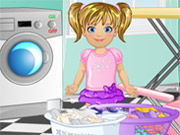 Play Baby Emma Laundry Time