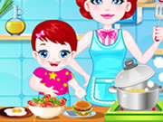 Play Baby Lulu Cooking