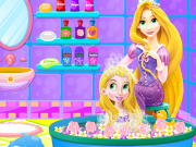 Play Baby Rapunzel Bath Time