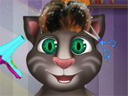 Play Baby Talking Tom Hair Salon