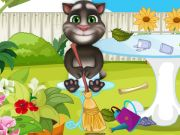 Play Baby Tom Garden Cleaning