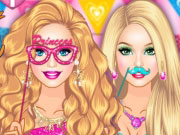 Play Barbie Fairy Photo Booth