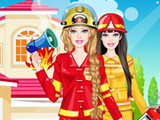 Play Barbie Firefighter