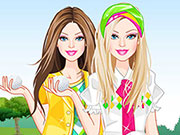 Play Barbie Golf Fashionista