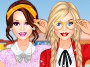 Play Barbie Nerdy College Girl