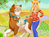 Play Barbie's Country Horse