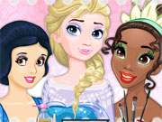 Play Barbie's Royal Makeup Studio