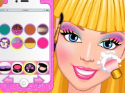Play Barbie's Selfie Make-up