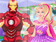 Play Barbie's Superhero Wedding