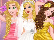 Play Barbie's Wedding Selfie