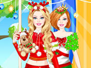 Play Barbie Santa Princess