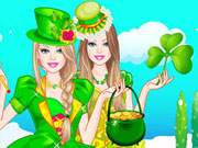 Play Barbie St Patrick's Day