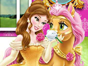 Play Belle and Petit Palace Pets