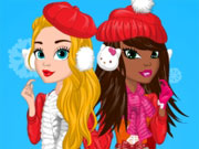 Play Christmas Doll Creator