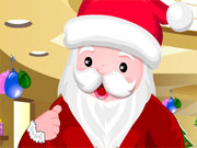 Play Cute Santa Dress Up