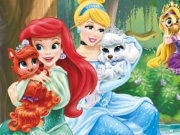 Play Disney Princesses Castle Fun