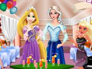 Play Elsa And Rapunzel Party