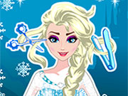 Play Elsa New Hairstyle
