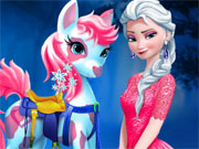Play Elsa Pony Caring