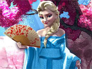 Play Elsa Travel Japan