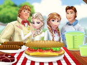 Play Frozen Family Picnic