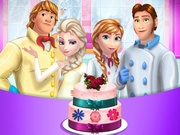 Play Frozen Family Wedding Cake