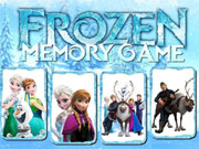 Play Frozen Memory Game 2
