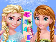 Play Frozen Prom Makeup