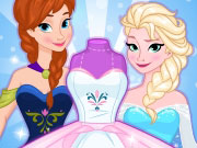 Play Frozen Wedding Dress