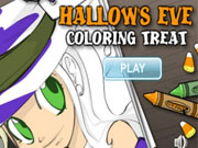 Play Hallow's Eve Coloring Treat