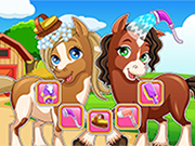 Play Horse makeover hair salon 2