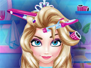 Play Ice Princess Hair Salon