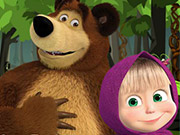 Play Masha and the Bear Forest Adventure
