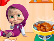 Play Masha Cooking Lesson