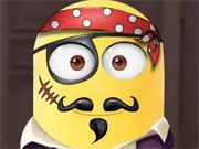 Play Minion Face Tattoo