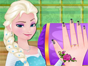 Play Modish Elsa Nail Care