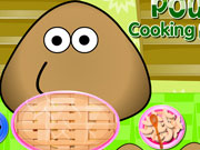 Play Pou Cooking Pie