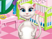 Play Pregnant Angela Baby Room