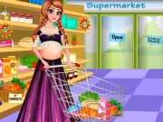 Play Pregnant Anna Shopping