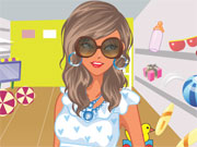 Play Pregnant Mom Shopping Dress Up