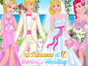 Play Princesses at Barbie's Wedding