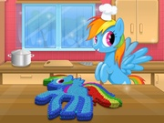 Play Rainbow Dash M&M Cake