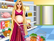 Play Rapunzel Food Shopping