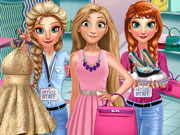 Play Rapunzel Shopping Day